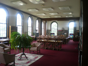 Photo: view within the library