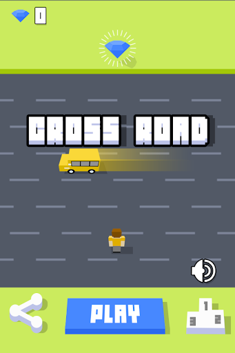 Cross Road Don't Crash - Pong