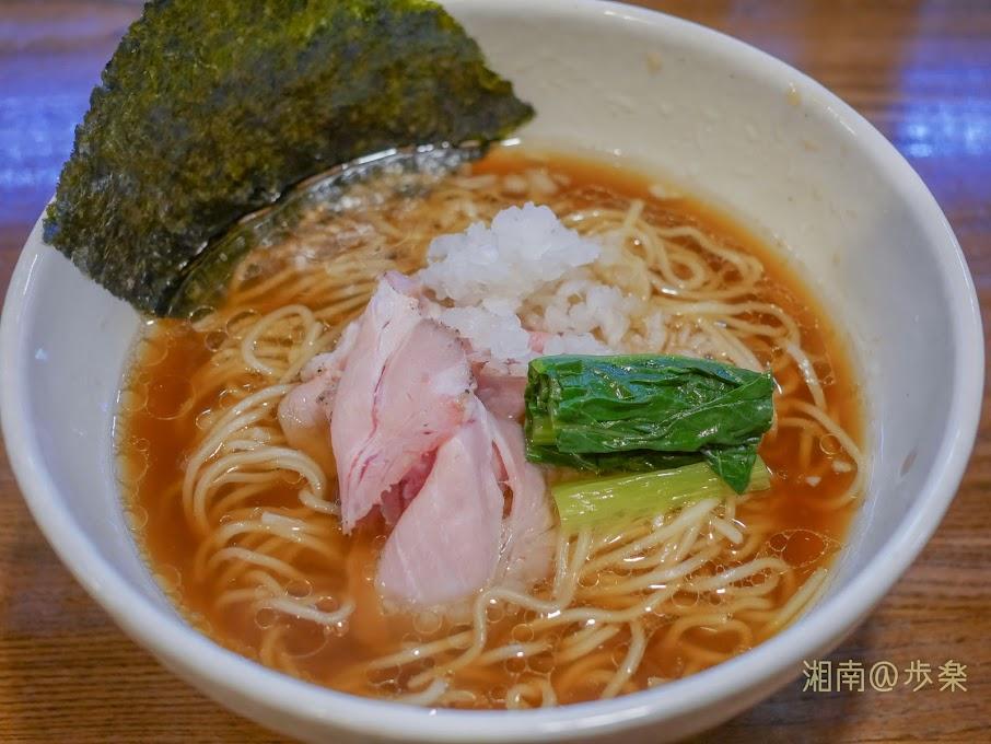 2019:らぁめん三代目OKAWARI 鶏そば@680 めんつゆを彷彿させる甘味あるスープ