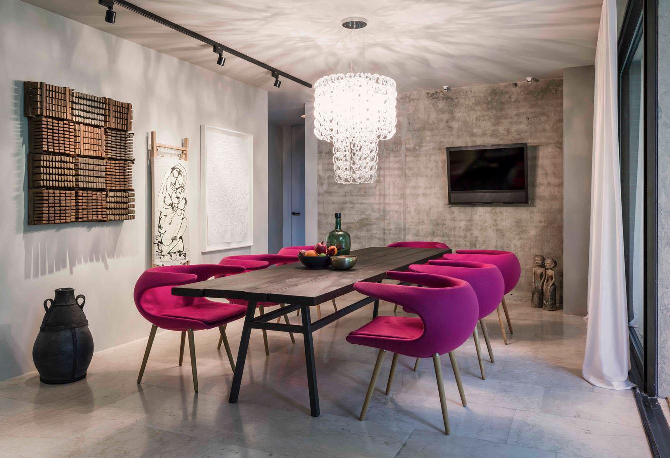 Hunian dengan desain interior kontemporer - source: idesignarch.com