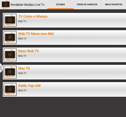 Nordeste Server Web TV