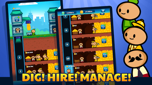 Gold Mine Idle Clicker: Mining Gold Game. Tycoon 1.2.2 screenshots 4