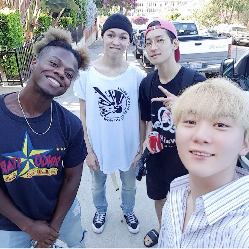 tobi lou seventeen vernon seungkwan wonwoo