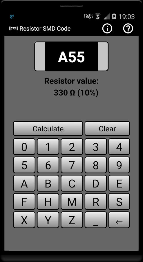 resistor smd code calculator