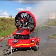 Photo: Velkokapacitní ventilátor Easy 4000 - přívěs - výroba vodní mlhy