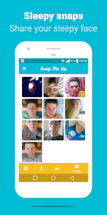 Snap Me Up: Selfie Alarm Clock Screenshot