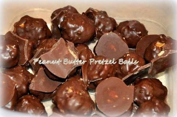 ~ Peanut Butter & Pretzel Balls ~ Recipe