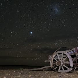 STAR-WAGON by Issi Potgieter - Artistic Objects Other Objects ( tankwa karoo, wagon, nightscape, starscape,  )
