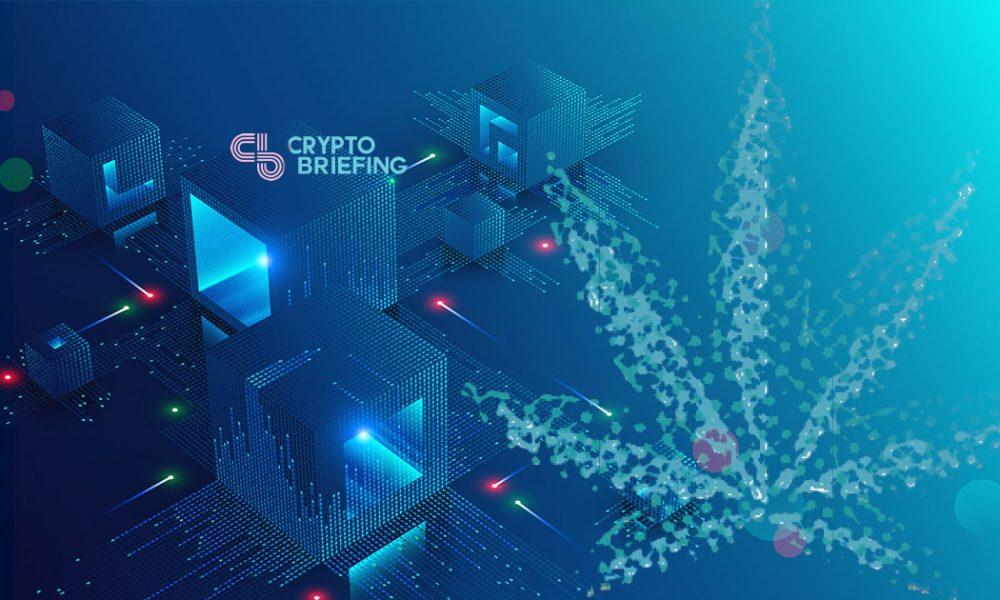 image montrant le canabis sur la blockchain