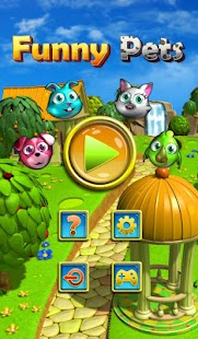 Funny Pets Match 3- screenshot thumbnail