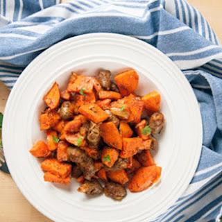 Slow Cooker Sweet & Savory Sweet Potatoes.