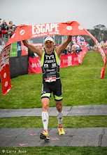 Photo: Andy Potts (USA) is a six time winner at the 2014 Escape from Alcatraz Triathlon on June 1, 2014 in San Francisco, CA