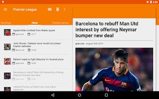 Screenshot of Sporee - Live Soccer Scores