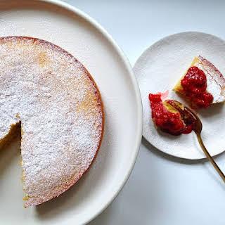 Flourless Almond & Coconut Cake.