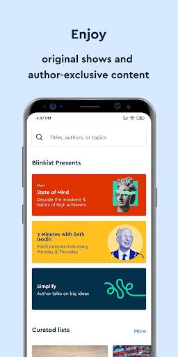 Blinkist screenshot 6