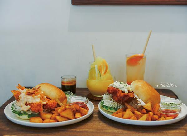 Waku Waku Burger:絕對再訪的好吃又好拍IG清爽日系漢堡店❤