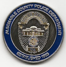 Photo: Albemarle County Police, Challenge Coin