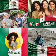 Mexico flag photo editor