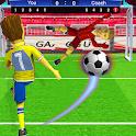 Kids Football Strike Soccer Free Kick Shootout icon