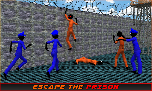 Stickman Prison Escape Story  screenshots 5