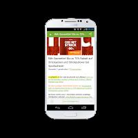 Screenshot of Snipz - deine Schnäppchen App