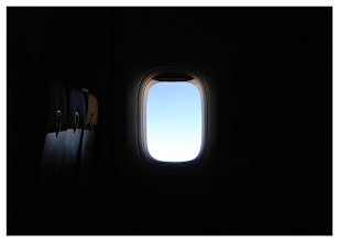 Photo: Window on the World  On the way back to the UK. A very atmospheric shot. It was taken as an afterthought but the image is one that I am very proud of.