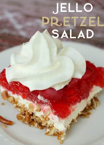 Jello Pretzel Salad Recipe