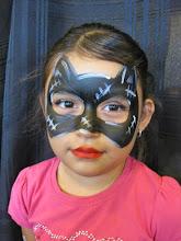 Photo: Catwoman facepaint by Maria, Chino, Ca 888-750-7024 http://www.memorableevententertainment.com/FacePainting/MariaChino,Ca.aspx
