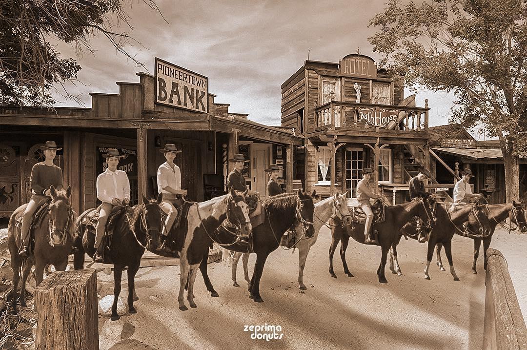 EXO Western Movie Edit