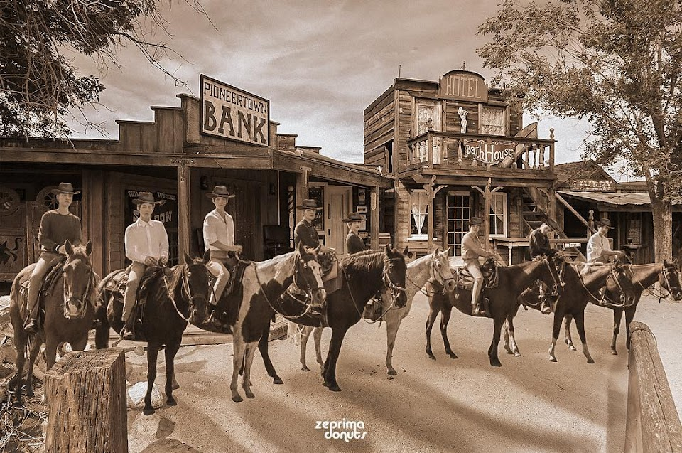 EXO Western Movie Edit