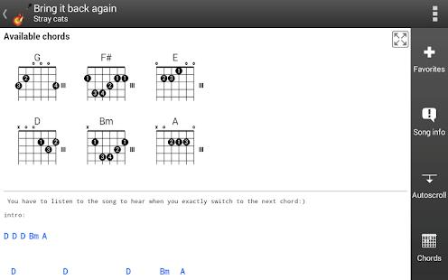 GuitarTab - Tabs and chords - AppRecs