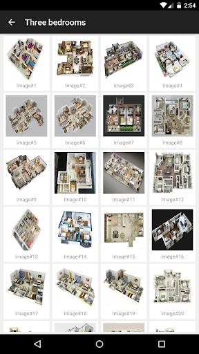 3d Home designs layouts screenshot