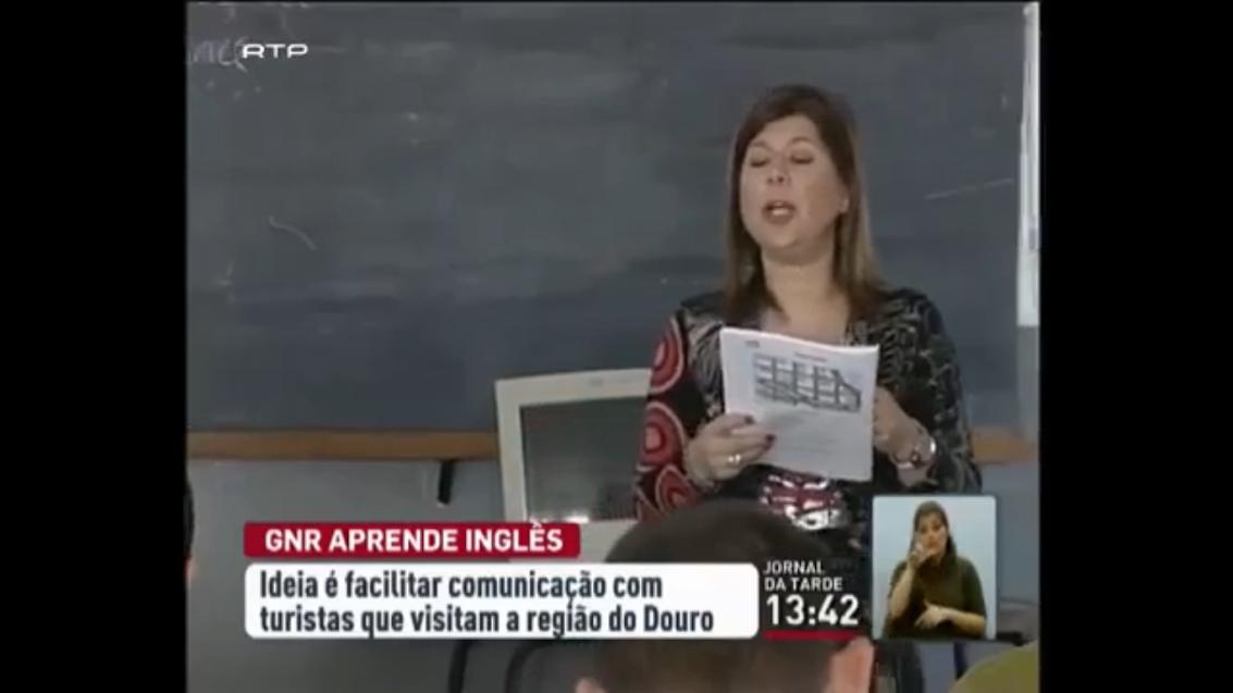 Agentes da GNR da região do Douro aprendem inglês