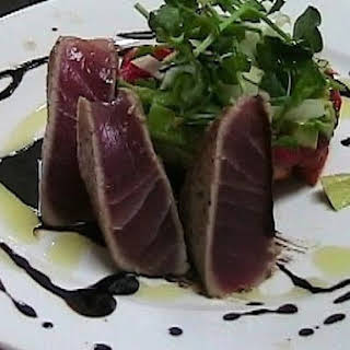Seared Ahi Tuna Salad.
