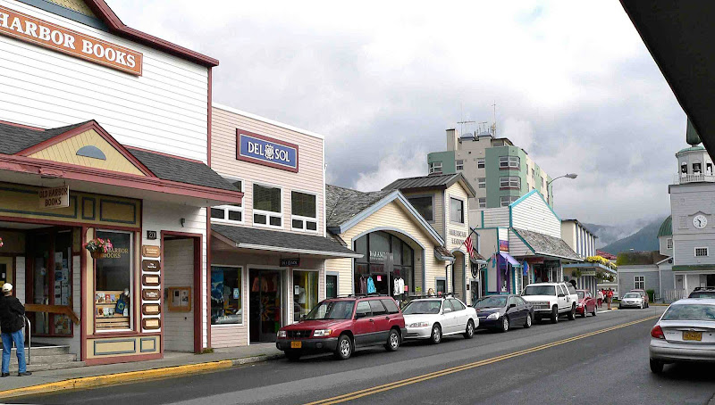 Experience shopping the way it used to be: Sitka boasts all independent, locally owned shops.