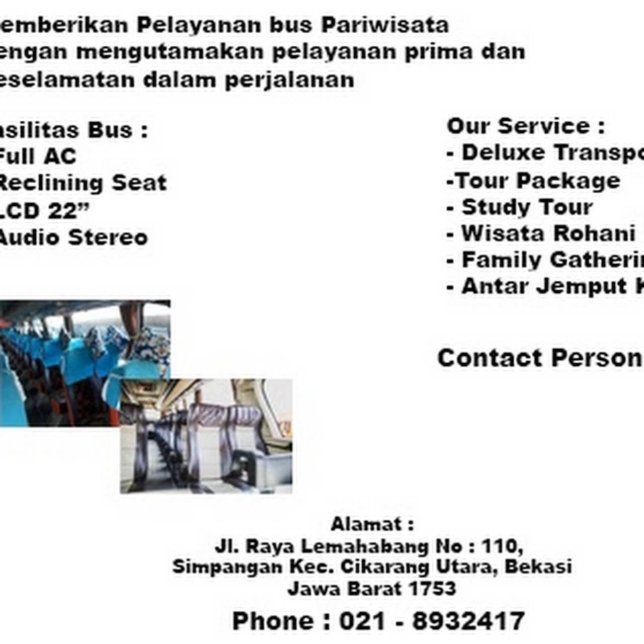 Bus Pariwisata Family Raya