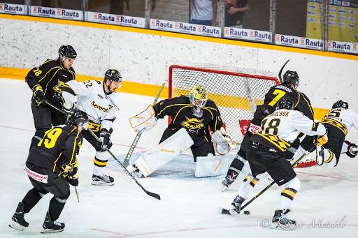 Karolus Kaarlehto pelasi ensimmäisen ottelunsa SaiPan paidassa.