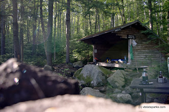 Photo: Remote lean-to at Kettle Pond State Park by Justin Lajoie