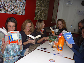 Photo: the book and girls