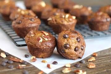 Sweet Potato Banana Mini Muffins