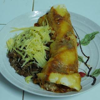 Cottage Cheese Chicken Enchiladas.