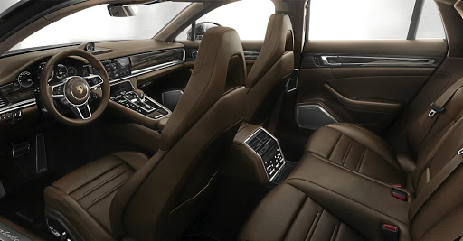 It is standard with a middle seat in the rear but you aren't going to want to sit there for long. Picture: PORSCHE