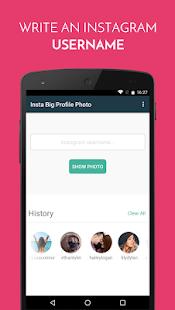 Insta Big Profile Photo screenshot