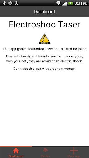 Electro Taser joke