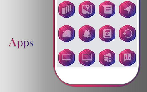 Fabel Purple Icons Pack App Report on Mobile Action - App Store