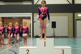 Photo: Clubkampioen recreatiemeisjes: Noor Egberts