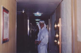Photo: MT Kolp.  The sheik of Half-Way night