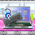 Laptop Factory: Computer Builder & Maker Games icon
