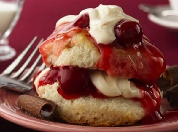 Luscious Cherry Shortcake Recipe