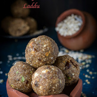 Oats Dry Fruits Laddu | How to make Oats Ladoo | Oats Laddu with Dates.